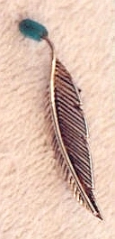Our 1st Work - 1st Feather Turquoiser 1989