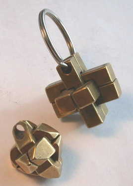 Our 1st Work - brass puzzle