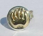 """Stud Earrings - ERss4b- Bearclaw Stud Earrings 5/16"""" diameter"""