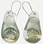 Tear Drop Earrings - ERn3 Teardrop Bearpaw
