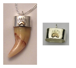 Bear Tooth Cap and Claw Cap