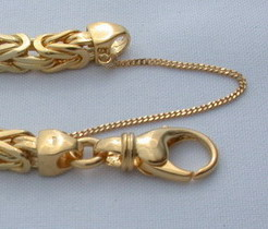 gold chain clasp lobster claw 14k 18k