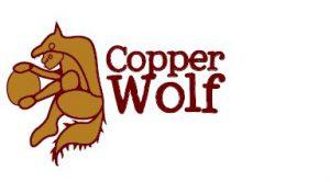 PenAp26 - Copper Wolf Logo Pendant