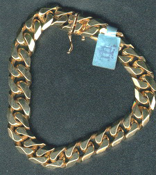 Others curb chain gold wrist necklace silver custom figaro mariner