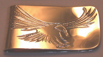 Others Moneyclips eagle gold soccer golf star dragon tiger