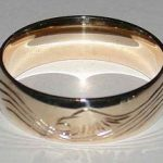 Wedding Rings - Gold Feather and Bird Rings
