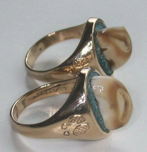 More Rings 4 Direction rings cast Cherokee nonnative wedding