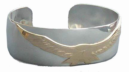 Feathers-Birds-Bracelets - BFB7 Flying Falcon
