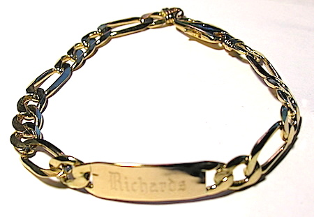 Chains - Figaro ID Bracelet
