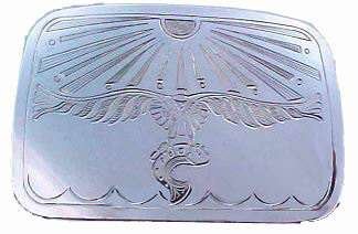 Belt Buckles - BB2 - Flying Eagle Belt Buckle