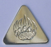 Money Clips - MC18 - Grizzly Paw guitar pick