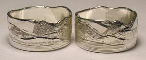 Engraved Mountain Rings - MnREng8 engraved mountains edge
