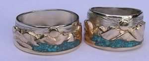 Rings - Mountain Rings in silver gold and platinum