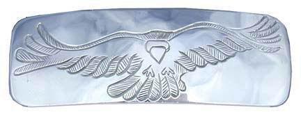 Barrettes - Barrette 5 Raven in silver