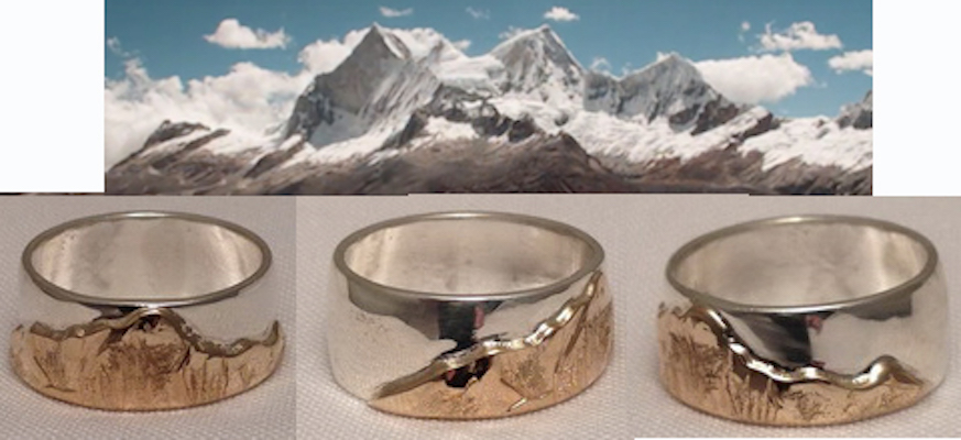 Custom Mountain Rings Canmore Mt Cleveland Banff