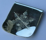 Money Clips - MC17 Snow Flake