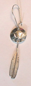 Our 1st Work - Soccer Ball Feather