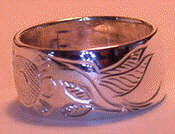 Silver Rings - Silver Bird - Feather Motif Rings Hummingbird and Turtle