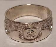 Appliquéd Rings - Rap33 - Sun Wave ring