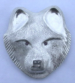 PenC20 - Wolf Head and Emerald eyes pendants