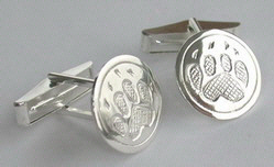 Others Cufflinks silver tie-clip sun moon golds bearclaw wolfpaw eagle grizzly cougar paw
