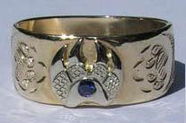 Rings - Paws Face Gem Stone Rings