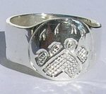 Wedding Rings - Rsp2 – Cougar paw Signet style