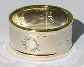 4-Direction Design - 4drg7 - 6mm - medicine Wheel and Sun burst