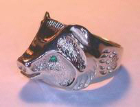 Other Cast Rings - RCas4 - Grizzly Head Ring