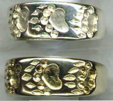 Other Cast Rings - RCas12 - Walking Grizzly Paws