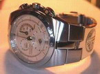 watches - Cherokee Warrior and Journey Symbols on Seiko silver watch
