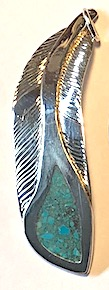 Feather and Turquoise